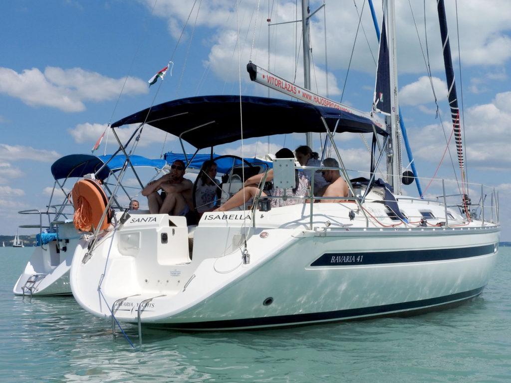 Hajós programok a Bavaria 41 Holiday vitorlással