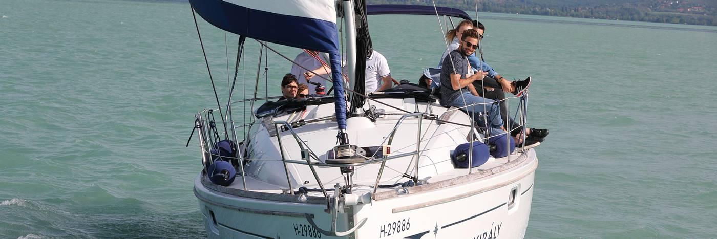 Exclusive yacht rental lake balaton